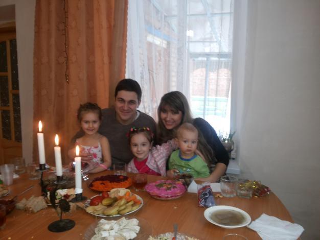 Со своими детками